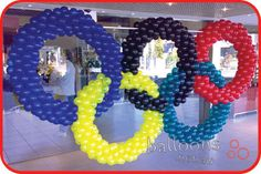 Olympic Rings Sculpture