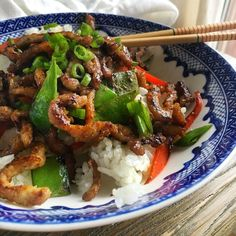 Insanely Easy Weeknight Dinners To Try This Week-Crispy Pork Stir Fry.