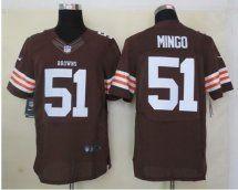 NFL Elite Cleveland Browns Jerseys 17