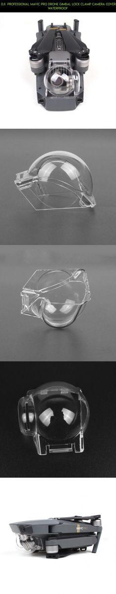 DJI  Professional Mavic Pro Drone Gimbal Lock Clamp Camera Cover Waterproof #camera #fpv #gadgets #kit #drone #mavic #gimbal #plans #parts #shopping #technology #racing #pro #products #lock #tech