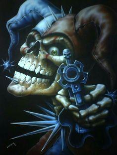 Skull joker