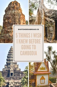 5 Things I Wish I Had Known Before Visiting Cambodia----(Cambodia Tips)