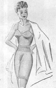 DIY Vintage 1940s Knitted Lingerie - FREE Knitting Pattern / Tutorial