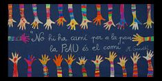 Resultado de imagen de dia de la pau murals School Doors, Beginning Of Year, Collaborative Art, Art Plastique, Classroom, Peace, Education, Learning, Blog