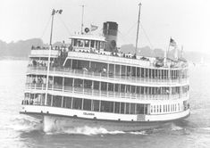 Boblo boat - the boat that used to take passengers to Boblo Island in the Detroit River, which had an amusement park.