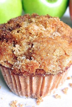 Muffins Apple Muffins Recipe Add a scoop of cinnamon chips!Apple Muffins Recipe Add a scoop of cinnamon chips! Apple Cinnamon Muffins, Apple Bread, Cinnamon Chips, Healthy Apple Muffins, Apple Crumble Muffins, Apple Pie Cake, Apple Streusel, Applesauce Muffins, Apple Cookies