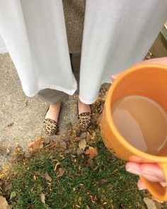 When your entire #ootd screams #fall !! #coffee #fromwhereistand #walktowork