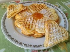 Deserts, Breakfast, Recipes, Food, Cukor, Tulip, Waffles, Morning Coffee, Essen