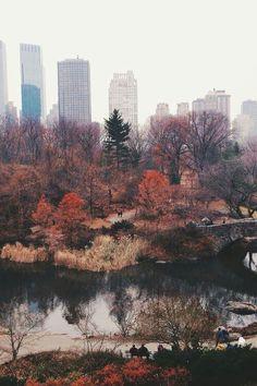 Central park in autumn - image #2213400 by patrisha on Favim.com http://andiastina.com ✿