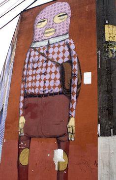 Artist: Os Gemeos in Sao Paolo