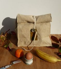 Autumn lunch bag by Abouchedecousue on Etsy