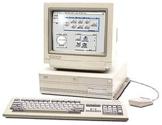 The Commodore Amiga 4000 computer. The last Amiga model I worked with before I had to move to a Windows PC in the late because of Studio Max. Alter Computer, Micro Computer, Computer Basics, Home Computer, Gaming Computer, Amiga Forever, Consoles, Pc Setup, Old Video