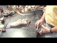 ▶ PIPA project - leather - how to make a pair of shoes.mov - YouTube