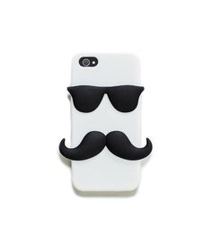 #PANDORAloves ... this fun and bearded phone cover #phone #monochrome