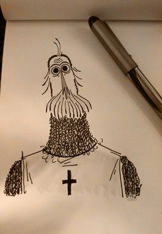 nikolas_ilic: Pen Sketch!
