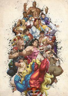 Street Fighter III 3rd Strike by Toshiharu.deviantart.com on @deviantART, original artwork by Stanley Lau