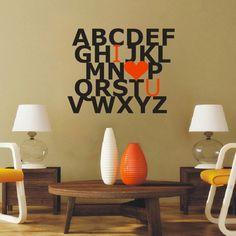 Alphabet Wall Decal