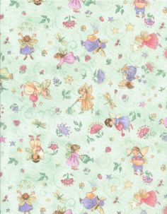 art by becky kelly images | Gardening Fairies ~ Fabric Collection ~ More