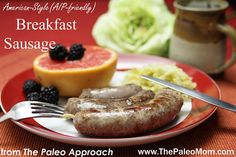 American-Style Breakfast Sausage–Preview Recipe from The Paleo Approach Cookbook