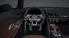 If you happen to like following the latest happenings of the auto world, you will need to have noticed among the emerging traits in this sphere these ... #Audi #CarInterior Audi R8 Interior, Gray Interior, Interior Photo, Automotive Group, Interior Concept, Rear Wheel Drive, Performance Parts, Concept Cars, Happenings