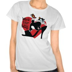 >>>best recommended          	Pussyfoot Who's Your Kitty Tshirt           	Pussyfoot Who's Your Kitty Tshirt We have the best promotion for you and if you are interested in the related item or need more information reviews from the x customer who are own of them before please follow the ...Cleck Hot Deals >>> http://www.zazzle.com/pussyfoot_whos_your_kitty_tshirt-235829184597606970?rf=238627982471231924&zbar=1&tc=terrest