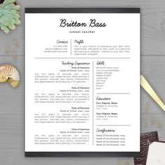 make your rsum stand out with a professional teacher rsum template from the rsum template studio