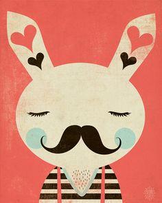 Love the moustache