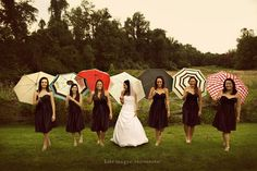 who says rain has to ruin your wedding day? by kate magee photography