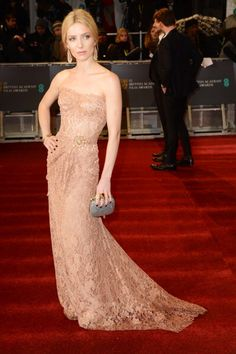 Fabulously Spotted: Annabelle Wallis Wearing Dolce & Gabbana   2013 EE British Academy Film Awards