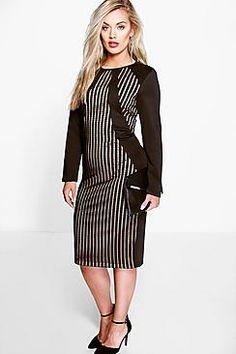 Plus Julia Premium Bodycon Dress