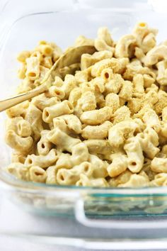 vegan mac n cheese recipe with cashew sauce