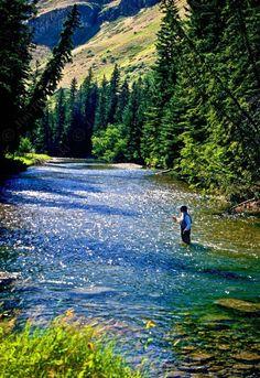 Boulder River in Montana
