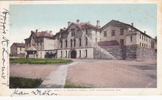 Fort Leavenworth Kansas US Federal Prison Old Postcard | eBay