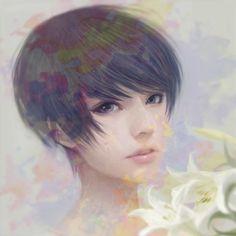 As belas ilustrações com garotas japonesas de Wataboku