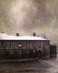"""From the Old Christiansborg Palace"" c.1907 - Vilhelm Hammershøi (Danish, 1864 - 1916)"
