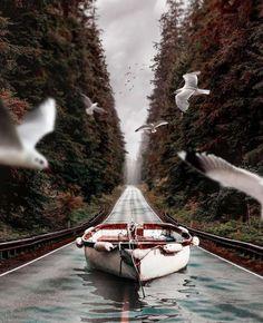 ألوان الوطن   بالصور  فنان تركي يجمع بين الخيال والطبيعة في صور فوتوغرافية