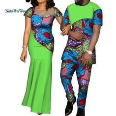 African Dashiki Summer Party Couples Clothes Big Yarn Dress and Colorful Shirts Pants Shoes-Jewelry Shoes-Jewelry Latest African Wear For Men, African Shirts For Men, Latest African Fashion Dresses, African Dresses For Women, African Print Fashion, African Clothes, African Attire, African Inspired Clothing, Traditional African Clothing