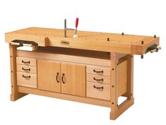 Sjoberg Elite Workbench 2000 With Cabinet
