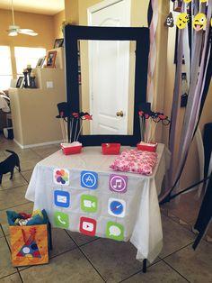 iPhone/iPad app birthday party decorations