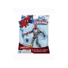 Ultimate Spider-Man: SHIELD Tech Spider-Man Action Figure | ToyZoo.com