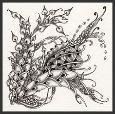 Fairy Tangles: by Norma J Burnell, Certified Zentangle Teacher Tangle Doodle, Tangle Art, Doodles Zentangles, Zen Doodle, Zentangle Patterns, Doodle Art, Colouring Pages, Coloring Book, Scripture Art