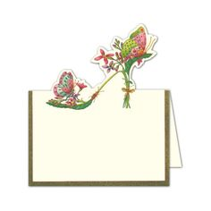 Parvanehs Garden Die Cut Place Cards