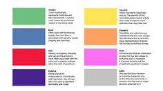 Paying attention to the mental effects of each hue can give your branding that extra something.