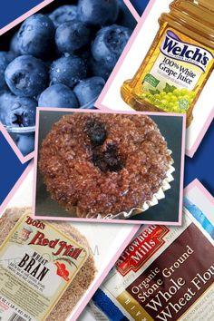 Guilt-free fiber muffins! #SFGirls