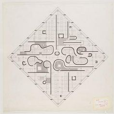 John Hejduk, Diamond Houses. 1950-60