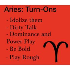 Aries Turn-Ons by thebluestchu on Polyvore featuring polyvore, art, zodiac and Aries