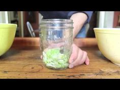 How to easily make sauerkraut.