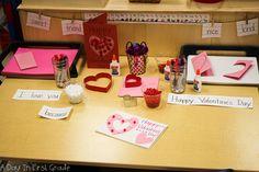 An invitation to write valentines