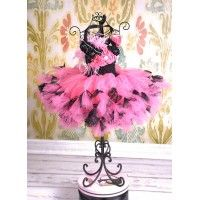Ooh La La Diva Couture Girls Boutique Crochet Tutu Dress www.babybasketboutique.com
