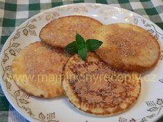 Lívanečky ze zakysané smetany Sweet Recipes, Pancakes, Cooking, Breakfast, Food, Cuisine, Kitchen, Meal, Pancake
